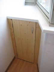 шкаф на балкон - foto 1