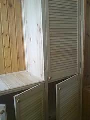шкаф из дверей жалюзи - foto 0