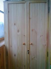 шкаф из дверей жалюзи - foto 3