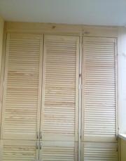 шкаф из дверей жалюзи - foto 4