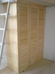 шкаф из дверей жалюзи - foto 6