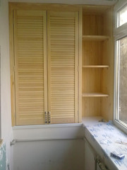 шкаф из дверей жалюзи - foto 7