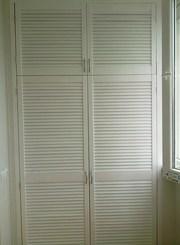 шкаф из дверей жалюзи - foto 12