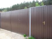 Заборы,  Ворота,  Калитки з профнастилу - foto 2