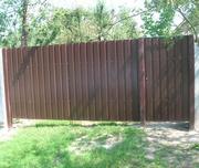 Заборы,  ворота и калитки из черного металла,  ковка - foto 1
