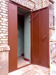 Однолистовая металлическая дверь - foto 0