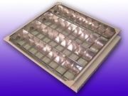 Растровые светильники 600*600,  для подвесных потолков. - foto 1