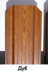 Штакетник металлический ширина 115мм (глянец,  матовый,  под дерево,  под камень). 32 цвета. - foto 5
