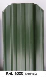 Штакетник металлический ширина 115мм (глянец,  матовый,  под дерево,  под камень). 32 цвета. - foto 7