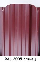 Штакетник металлический ширина 115мм (глянец,  матовый,  под дерево,  под камень). 32 цвета. - foto 10