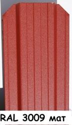 Штакетник металлический ширина 115мм (глянец,  матовый,  под дерево,  под камень). 32 цвета. - foto 13