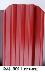 Штакетник металлический ширина 115мм (глянец,  матовый,  под дерево,  под камень). 32 цвета. - foto 14