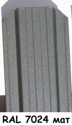 Штакетник металлический ширина 115мм (глянец,  матовый,  под дерево,  под камень). 32 цвета. - foto 17