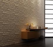 3D Панели для объемной отделки стен- рельефные 3-д стеновые панели из  - foto 3
