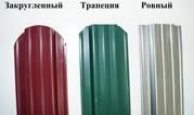 Штакетник для забора и ограждения из металла 3 цвета. - foto 0