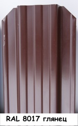 Штакетник для забора и ограждения из металла 3 цвета. - foto 2