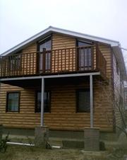 Металлический сайдинг блок хаус (Block House)  - foto 4