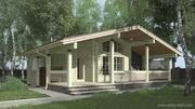 Деревянные дома Аттика стиль - foto 1