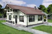 Деревянные дома Аттика стиль - foto 2