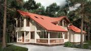 Деревянные дома Аттика стиль - foto 3