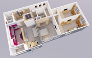 Дизайн-Проект ремонта квартиры недорого!