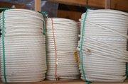 Веревка капроновая строительная,  диаметр 12 мм. - foto 0