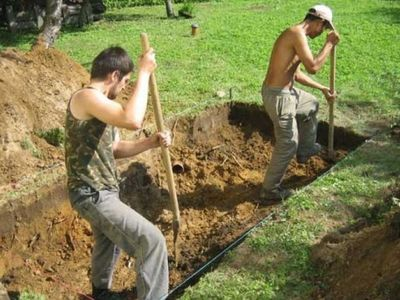 Копаем землю вручную и спецтехникой Киев,  киевская область  - main