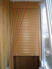 Сантехнические  рольставни,  роллеты в ванную комнату,  туалет,  на балкон.  - foto 1