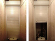 Сантехнические  рольставни,  роллеты в ванную комнату,  туалет,  на балкон.  - foto 3
