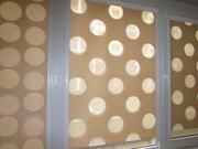 Рулонные шторы День Ночь,  тканевые  ролеты - foto 1