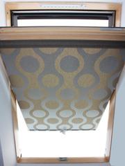 Рулонные шторы,  тканевые роллеты на мансардные окна. - foto 1