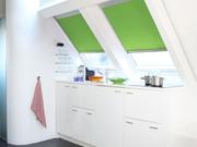 Рулонные шторы,  тканевые роллеты на мансардные окна. - foto 2