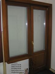 деревянные окна из дуба - foto 0