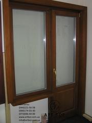 АРТ БОР Деревянные окна из трехслойного евро бруса. - foto 0