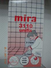 Клей для плитки mira 3110 unifix,  15 кг  (белый)