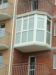 Окна балконы лоджии (вынос,  обшивка,  утепление). Французские балконы. - foto 4