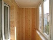 Окна балконы лоджии (вынос,  обшивка,  утепление). Французские балконы. - foto 7