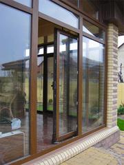 Раздвижные пластиковые двери и окна по доступной цене. - foto 1