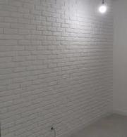 Покраска - 3d панелей,  гипсового камня,  декор штукатурки