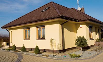 Покраска - фасада коттеджа,  малоэтажных строений - краскопультом  - main