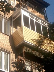 Пластиковые Балконы и лоджии Rehau под ключ от Дизайн Пласт®  - foto 9