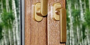 Противовзломная оконная ручка Rehau Linea Design  - foto 3