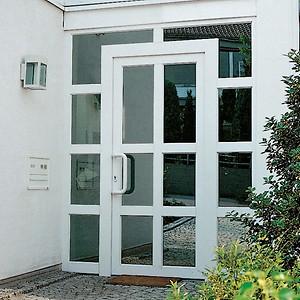 Входные двери металлопластиковые Rehau от Дизайн Пласт® - main