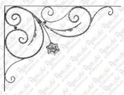 Кованные боковины для козырьков - foto 2