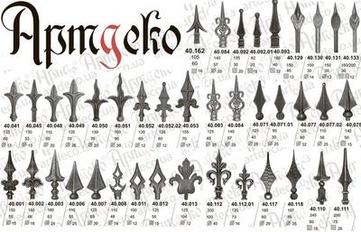 Кованные изделия и элементы от производителя Артдеко ООО - main