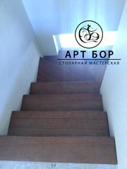 деревянные лестницы Киев - foto 4