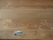Деревянная вагонка Лиственница Сибирская 14 мм ширина,  80-165мм - foto 0