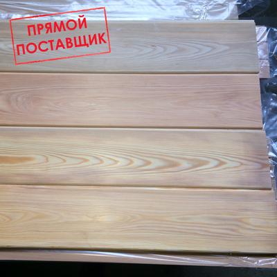 Деревянная вагонка Лиственница Сибирская 14 мм ширина,  80-165мм - main
