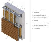 Утепление,  энергосберегающий вентилируемый фасад HOSTROCK - foto 3