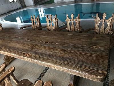 Мебель из массива дерева на заказ - main